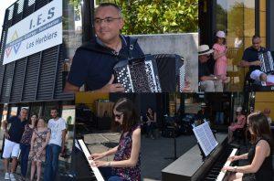 IES Cholet Les Herbiers leçon accordéon et piano synthé