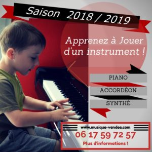 Professeur piano accordéon