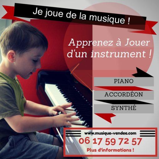 Renseignements et inscriptions Cours de musique