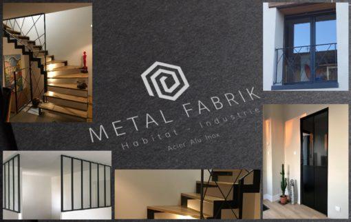pour l'habitat et l'industrie, metalfabrik.fr (verrières, portes acier, garde-corps, portail, portillon, claustras, chassis, etc)